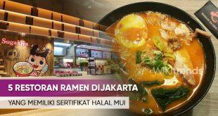 RESTORAN RAMEN HALAL DI JAKARTA