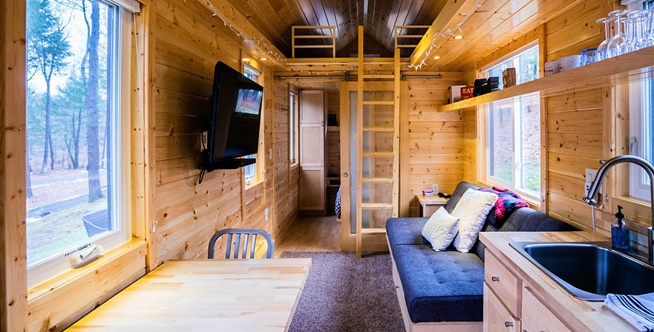 Think Big A Tiny House Resort