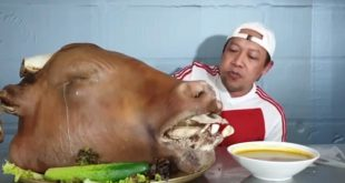 mukbang kepala sapi