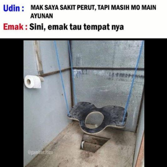 ayunan toilet