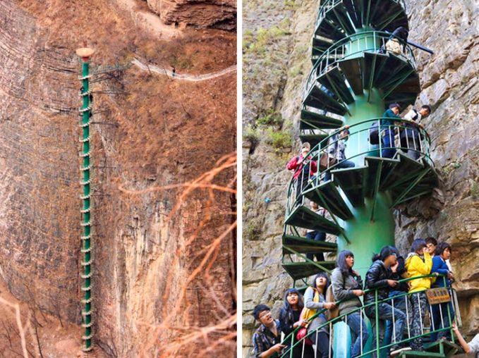 puncak Gunung Taihang di China