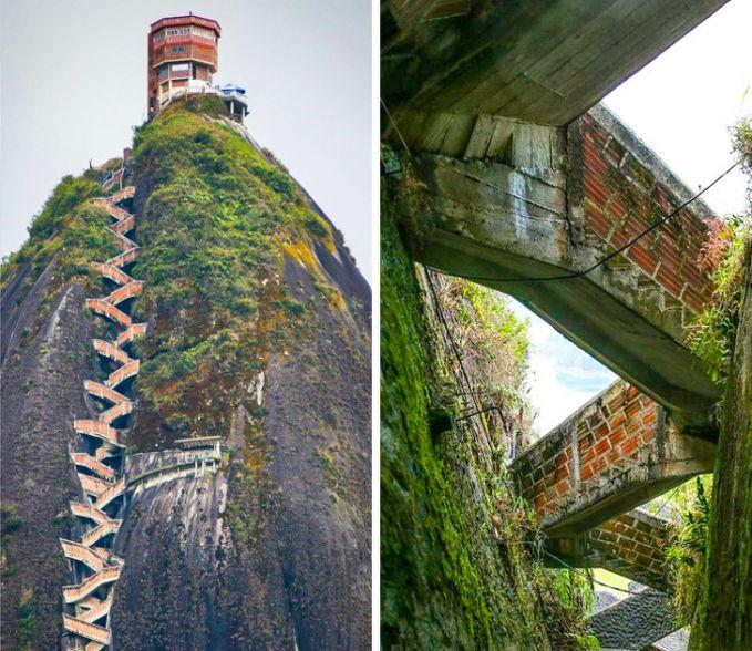 tangga zigzag di colombia