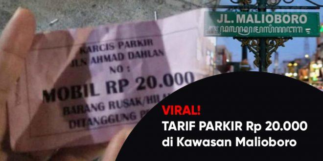 tarif parkir 20000